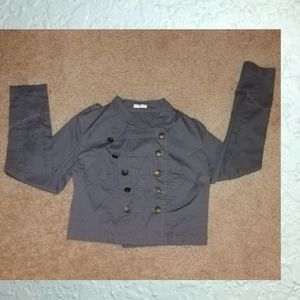 Womens Gray Jacket